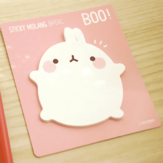 Sticky Molang Boo !