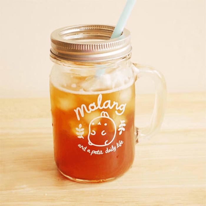 Jarre en verre Molang