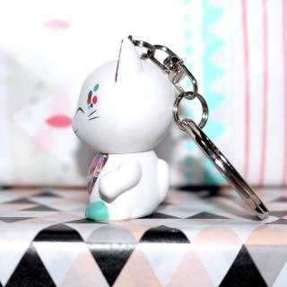 Mani The Lucky Cat - Porte Clés Mani 003