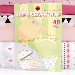 Ice Cream Note Lemon Muscat