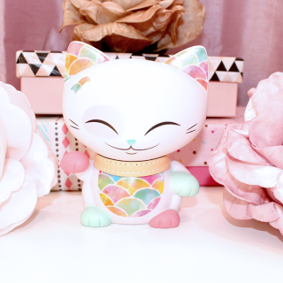 Mani The Lucky Cat - Figurine Mani Multicolor