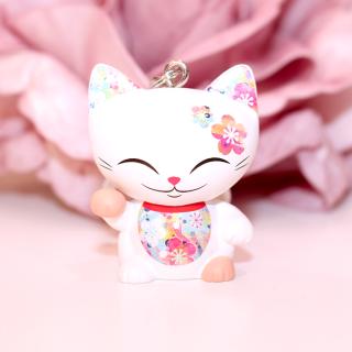 Mani The Lucky Cat - Porte Clés Mani 018