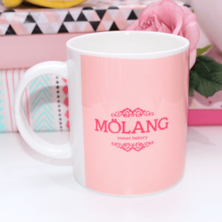 Mug Molang Strawberry Cake