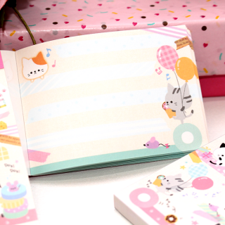 Mini Bloc Note Pocket Nyanko