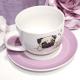 Tasse avec sous-tasse - Carlin