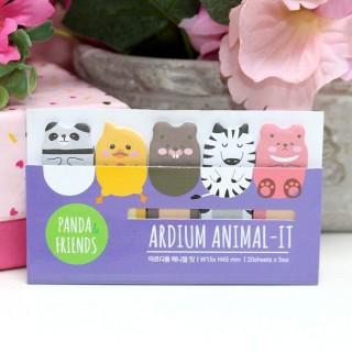 Stick Marker Panda & Friends
