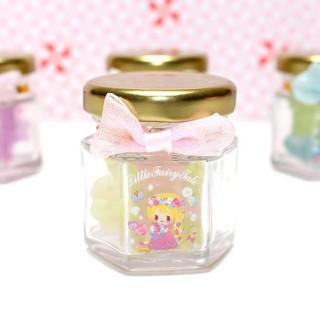 Jarre de 20 gommes Little Fairy Tale Princesse