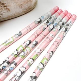Crayon à Papier Pingouin Kamio Rose