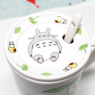 Mug Totoro Vert avec couvercle