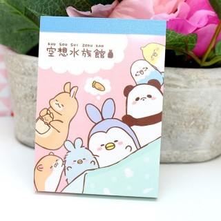 Mini Bloc note - Kousouzokukan Aquarium
