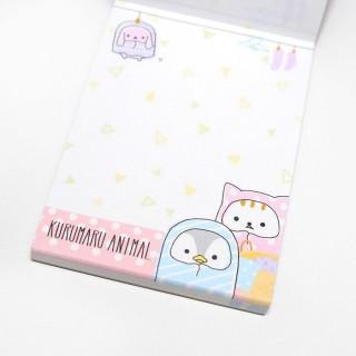 Mini Bloc note - Kurumaru Animal