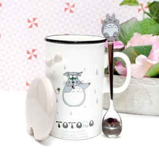 Mug Totoro avec un parapluie