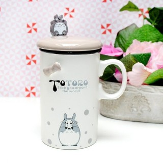 Mug Totoro avec un masque de sans visage