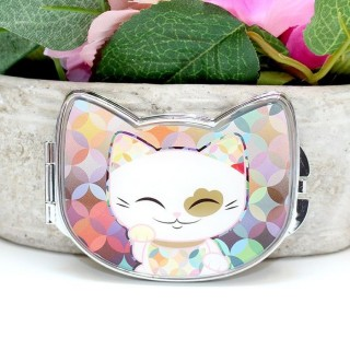 Miroir Mani The Lucky Cat Multicolor
