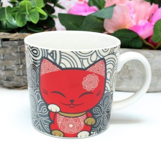 Mug Mani The Lucky Cat Rouge