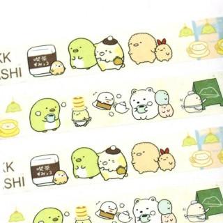 Masking Tape Sumikko Gurashi Tea Time