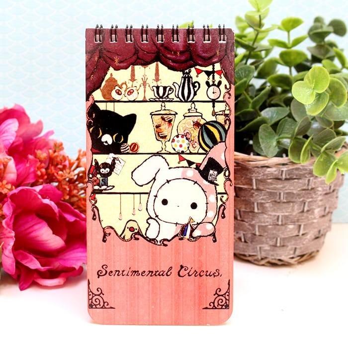 Carnet de Note Sentimental Circus Modèle Rose