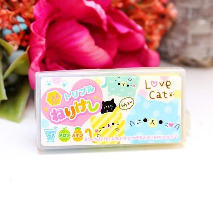 Gomme parfumée Love Cat