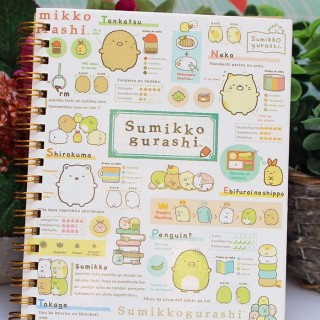 Carnet Sumikko Gurashi Personnalité