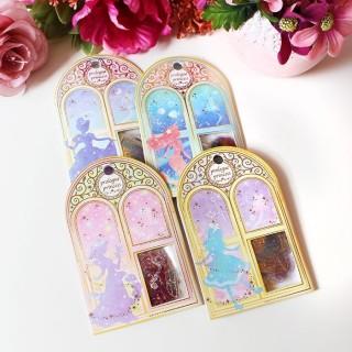 Pochette d'autocollants Princesses Disney