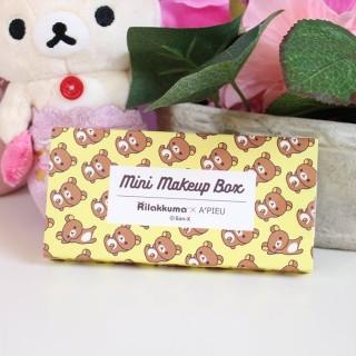 Rilakkuma x A'PIEU Mini Makeup box Rilakkuma