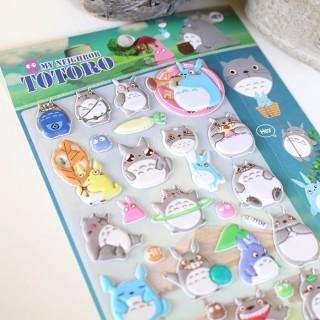 Autocollant 3D Totoro Hey