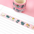 Washi Tape Petits Chatons et Noeuds Rose