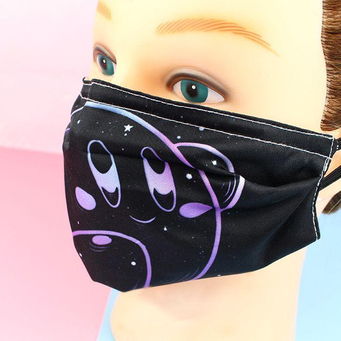 Masque Visage Tissu Kirby - Galaxy  sur Tamtokki Boutique Kawaii