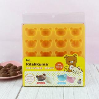 Moule à chocolat San-X Rilakkuma - 2 Expressions  sur Tamtokki Boutique Kawaii