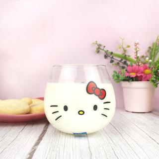 Verre Sanrio Visage - Hello Kitty  sur Tamtokki Boutique Kawaii
