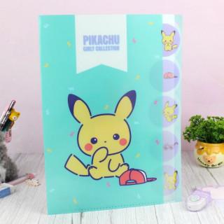 Pochette Plastique A4 intercalaires Pokémon - Pikachu Girly Collection  sur Tamtokki Boutique Kawaii