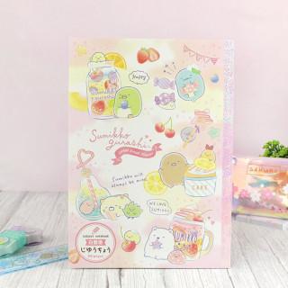 Cahier San-X Sumikko Gurashi - Sweet Fruits Flavor  sur Tamtokki Boutique Kawaii