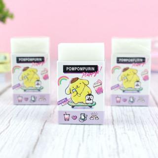 Gomme Sanrio Pompompurin - Happy  sur Tamtokki Boutique Kawaii