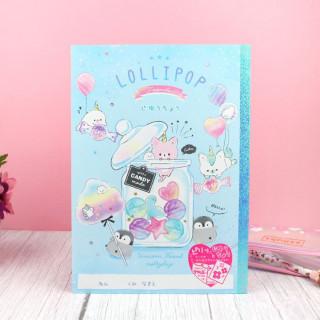 Cahier Q-Lia Lollipop Friends  sur Tamtokki Boutique Kawaii