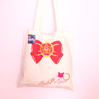 Sac écologique Sailor Moon Noeud + Pochette