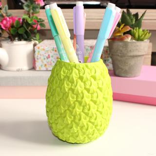 Pot à crayon Ananas vert