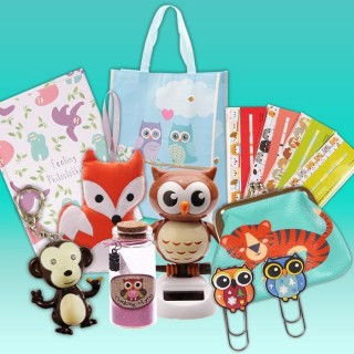 MAXI Kawaii Box Tamtokki: Animaux