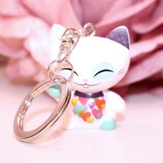 Mani The Lucky Cat - Porte Clés Mani 019