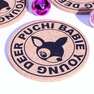 Dessous de tasse Puchi Babie Young Deer
