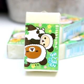 Gomme Rilakkuma déguisé en Panda