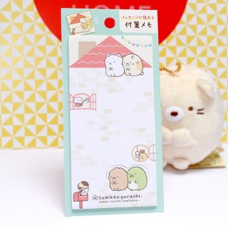 Post-it pliable Sumikko Gurashi vert
