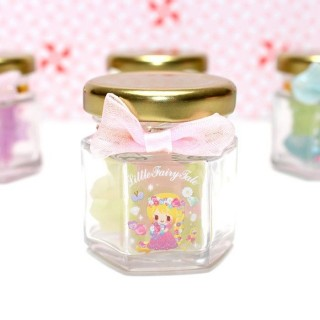 Jarre de 20 gommes Little Fairy Tale Princesse