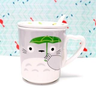 Mug Totoro Gris avec couvercle