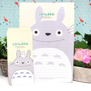 Papier à lettre Totoro Jaune