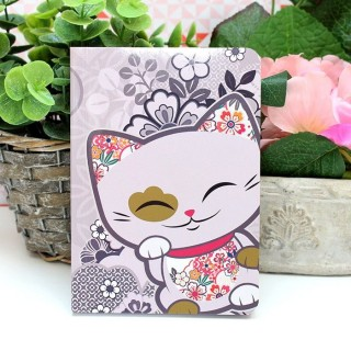 Carnet Mani The Lucky Cat Violet