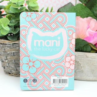 Carnet Mani The Lucky Cat Turquoise