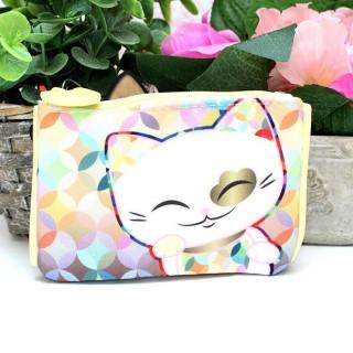 Porte Monnaie Mani The Lucky Cat Multicolor