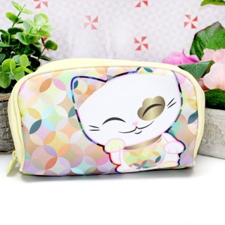 Trousse Mani The Lucky Cat Jaune