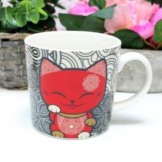 Mug Mani The Lucky Cat Rouge