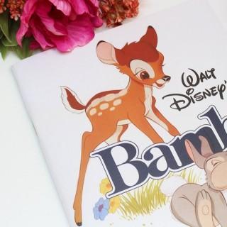 Cahier Bambi Walt Disney